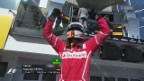 Video «Vettel und Räikkönen lassen Ferrari jubeln» abspielen