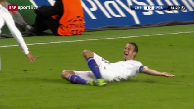 Video «Fussball: Highlights Chelsea - Basel» abspielen