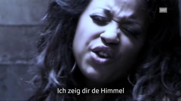 Video «Fabienne Louves & Marc Sway «Hemmigslos Liebe» – Das Wort zum Video» abspielen