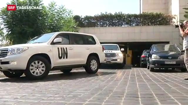 UNO-Experten am Ort des möglichen Giftgasanschlags