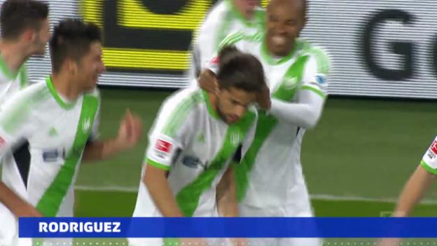 Video «Rodriguez' Tor gegen Dortmund» abspielen