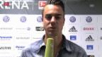 Video «Diego Benaglio zum Rücktritt von Ottmar Hitzfeld («sportaktuell»)» abspielen