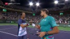 Video «Tennis: Turnier in Indian Wells» abspielen