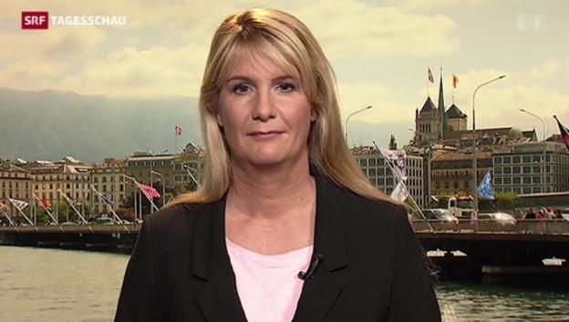 Video «SRF-Korrespondentin Alexandra Gubser zum Streik in Genf» abspielen