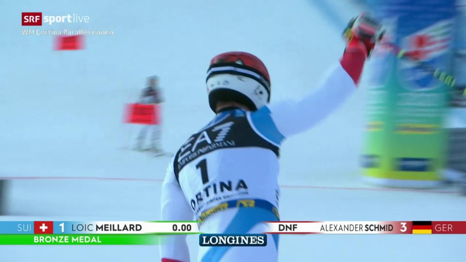 La cursa da Loïc Meillard