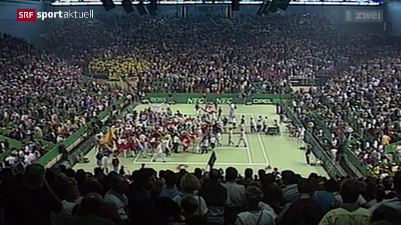 Tennis: Davis Cup, Rückblick auf den Halbfinal 1992