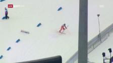Link öffnet eine Lightbox. Video Venezolanischer Ski-Exot sorgt in der Quali für Hingucker abspielen