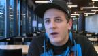 Video «Schneller Rekrut: GP2-Weltmeister Fabio Leimer in der RS» abspielen