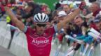 Video «Neuer Leader an der Tour de Suisse» abspielen