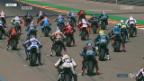 Video «Auch in Aragon keine Punkte für Lüthi» abspielen