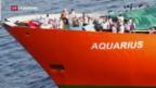 Video «Rettungsschiff Aquarius» abspielen