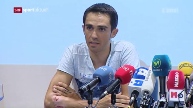 Video «Contador verzichtet auf Rio» abspielen