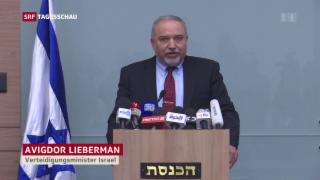 Video « Regierungskrise Israel» abspielen