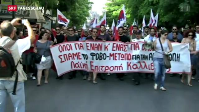 In Griechenland geht nicht mehr viel