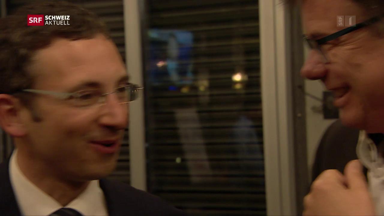 FDP mit Quereinsteiger zurück in Walliser Regierung