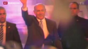 Video «Netanjahus Likud-Partei gewinnt» abspielen