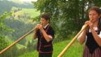 Video «Alphorntrio Rütiwil - Auchli» abspielen