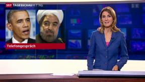 Video «Telefongespräch zwischen Obama und Rohani » abspielen
