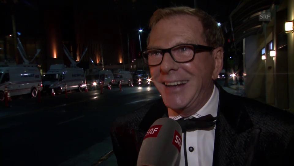 Kurt Aeschbacher im Oscar-Fieber