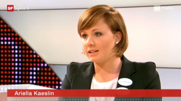 Video «Studiogast Ariella Kaeslin» abspielen