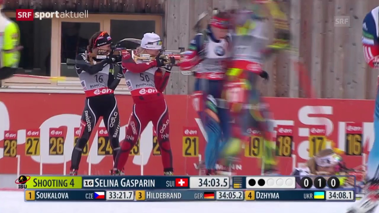 Weltcup in Ruhpolding («sportaktuell» vom 10.01.14)