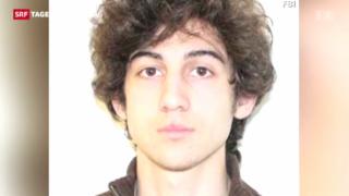 Video «Mutmasslicher Attentäter von Boston vor Gericht» abspielen