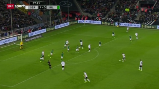Video «Fussball: WM-Quali, Deutschland - Irland» abspielen