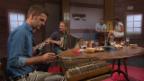 Video «Stammtisch-Kapelle: «Bim Schmid i de alte Poscht»» abspielen