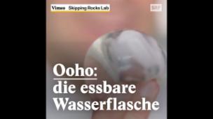 Video «Ooho: die essbare Wasserkugel» abspielen
