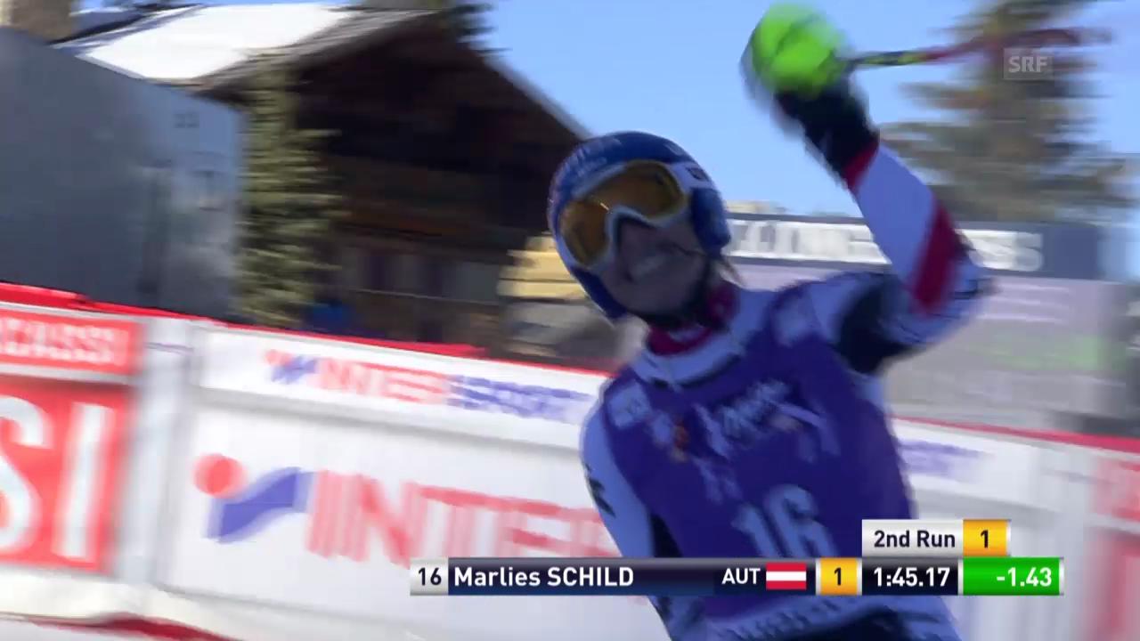 Ski: Weltcup, Slalom Frauen in Courchevel («sportlive»)