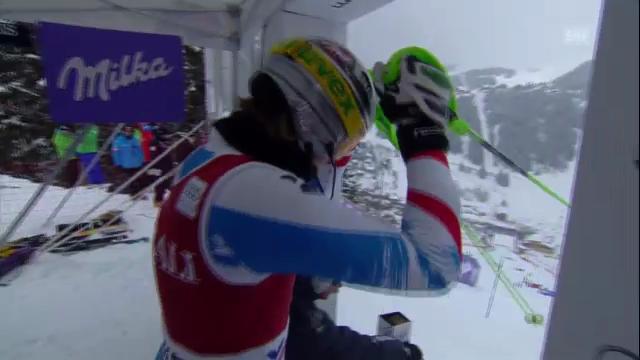 Ski: Superkombination Méribel, Slalom von Nicole Hosp