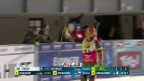 Video «Der Zieleinlauf von Laura Dahlmeier über 15 Kilometer» abspielen