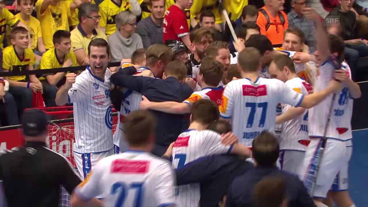 Spektakulärer Cupfinal zwischen GC und Rychenberg