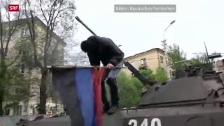 Video «Erneut Gefechte in der Ukraine» abspielen