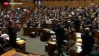 Video «Die Eidgenössischen Räte künftig ohne Haller und Schwaller» abspielen