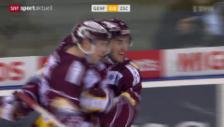 Video «Eishockey: NLA, Servette - ZSC Lions» abspielen