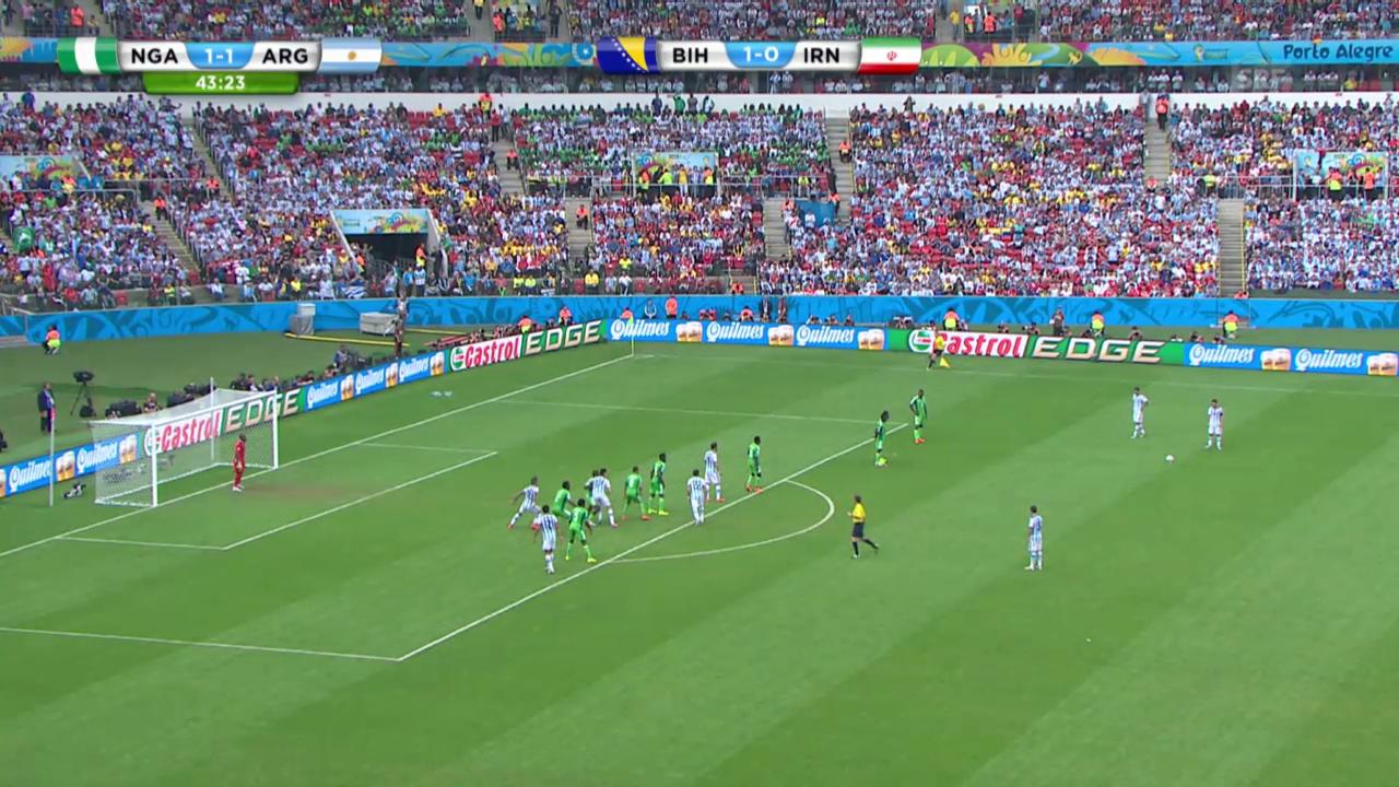 Nigeria - Argentinien: Die Live-Highlights