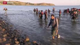 Video «FOKUS: Flüchtlinge stranden im Ferienparadies» abspielen