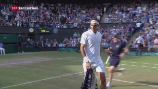 Video «Federer in Wimbledon im Final» abspielen