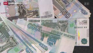 Video «Russische Zentralbank reagiert auf «Rubel-Sturz»» abspielen