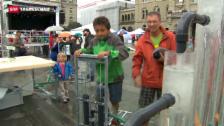 Video «Openair gegen Wasserverschwendung» abspielen