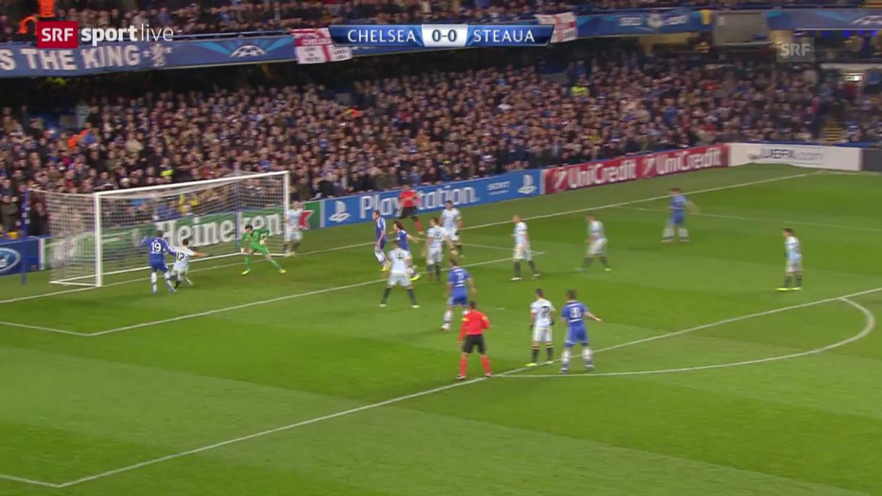 Fussball: CL, Chelsea - Steaua («sportlive», 11.12.2013)