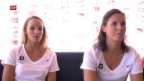 Video «Die Schweizer Beachduos der Frauen vor den Spielen» abspielen