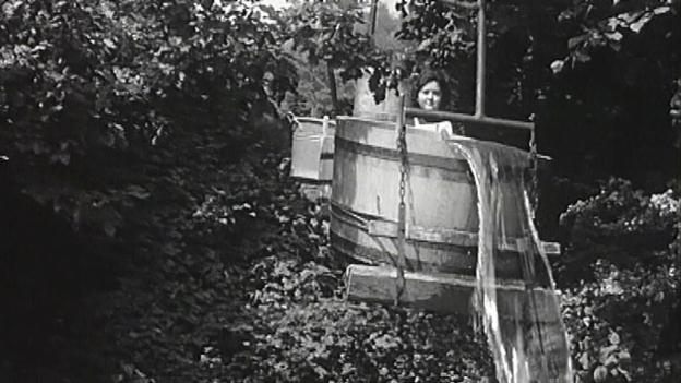 Video «Wie ein Nidwaldner Bauer 1962 Wasser auf die Alp brachte» abspielen