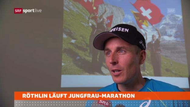 Video «Neue Herausforderungen für Viktor Röthlin» abspielen