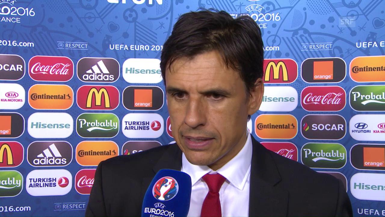 Coleman: «Die Spieler haben alles gegeben» (englisch)