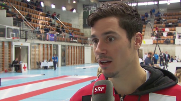 Video «Fechten: GP Bern, Interview Kauter» abspielen