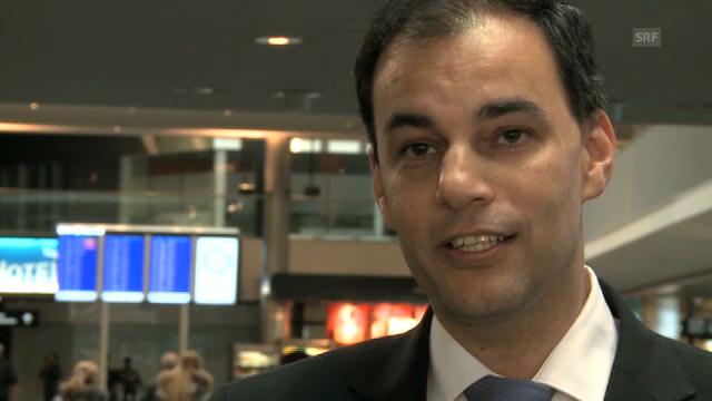 Flughafen-Finanzchef Daniel Schmucki über Portugal