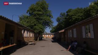Video «Test mit beschleunigtem Asyl-Verfahren in Zürich gut gestartet» abspielen