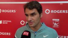 Video «Tennis: Federer zum Halbfinale gegen Feliciano Lopez» abspielen